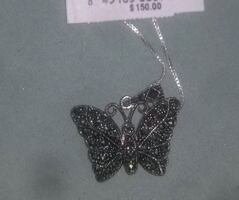 Butterfly pendant perfect condition