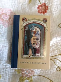 A Series of Unfortunate Events book 1 hardcover Essex, 21221