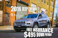 2016 Jeep Cherokee 4D SUV Fort Lee