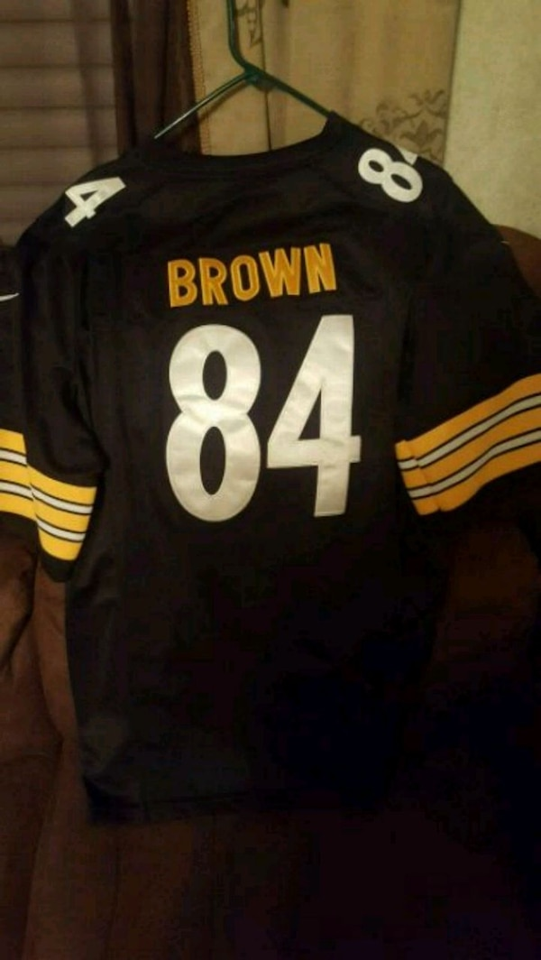 Wholesale Used black and yellow Pittsburgh Steelers 86 jersey for sale in