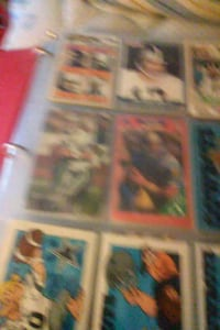 assorted football trading card collection 1621 mi