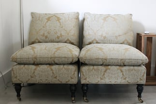 Accent chairs by The Mitchell Gold Company (Pair)