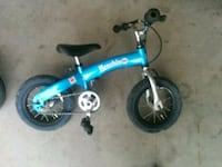toddler's blue and black bicycle Tucson, 85757