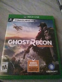 Ghost Recon Xbox One game case Bakersfield, 93307
