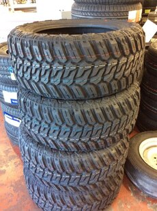 33X12.50R20 - Set of Four New Tires