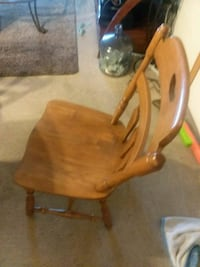 Antique table and chair a need fixing a litte