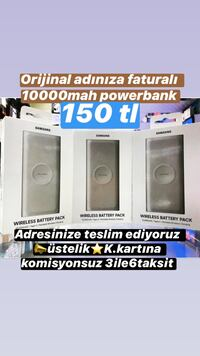 Samsung 10000mAh Fast Charge Wireless Battery Pack (Type C) Konak, 35250