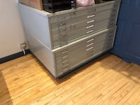 Flat File Cabinets / Store Flat Paperwork ($200.00 for each or best offer) Evanston