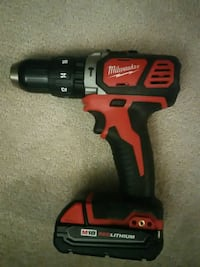 red and black Milwaukee cordless power drill Surrey, V3T 1A8
