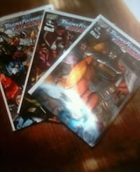 3 transformers comics Brockton, 02301