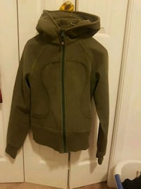Green LuLu Lemon zip up Kamloops, V2B 3E4