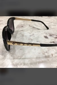 black and brown framed sunglasses Sterling Heights, 48310