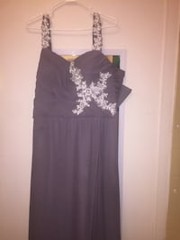 Size 18 sequined formal dress! Grayish/Lavender color  Chatsworth, 30705