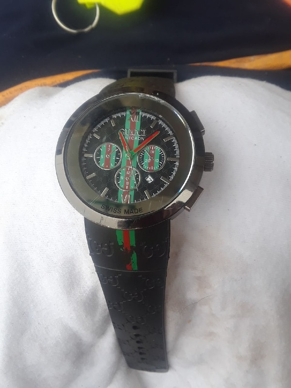 90abbcc4113 Used GUCCI PANTCAON WATCH SWISS MADE(REF CODE 1142) for sale in ...