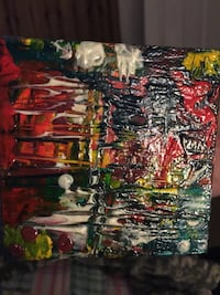 Abstract Artwork Acrylic Painting Mary Esther, 32569