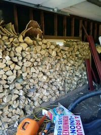 Wood split and ready to burn. Good for camp fires  Brookfield, 53005
