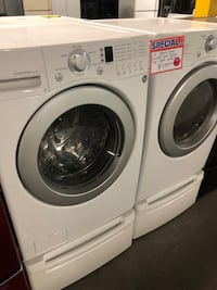Special Lg front load washer and dryer set with pedestal 10% off Baltimore, 21223