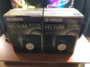 Yamaha Studio Monitors with Subwoofer Hs50M HS10W