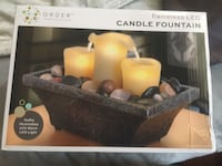 Brand new LED flameless candle with water fountain West Allis, 53219