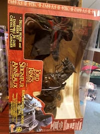 The Lord Of The Ring action figure pack