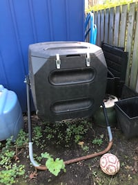 Compost spinner from Costco