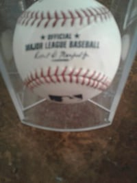 Official autographed baseall