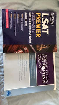 LSAT books brand new  Washington, 20024