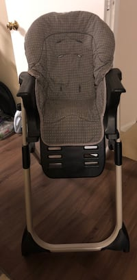 baby's gray and black high chair Fairfax, 22030
