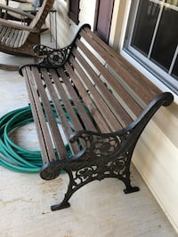 "Outdoor Parklike Bench 48"" Olney, 20832"