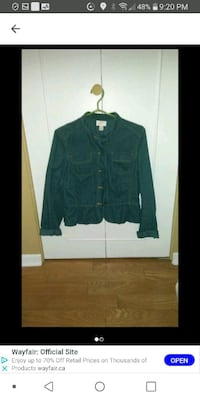 Woman Corduroy jacket med