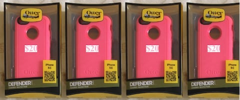 iPhone 5C Defender  Otter Box $20 & Commuter Otter Box $15
