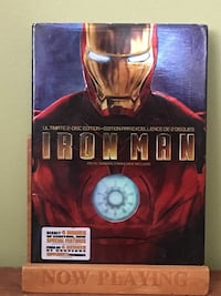 Iron Man DVD case Toronto, M1X 1V8