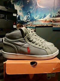 **MINT** 2012 Polo High-Top Grey's Size 9 Toronto, M4L 3A4