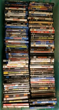 assorted-title DVD case lot 23 km