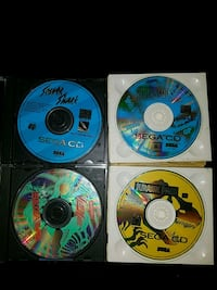 4 Sega CD games Woodbridge, 22193