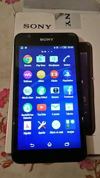 noir Sony smartphone Android