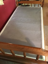 Twin bed box spring only includes head board, foot board a metal bed frame (no mattress ) North Falmouth, 02556