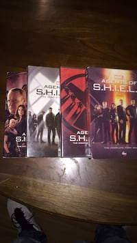 Season 1-4 of Marvel Agents Of Shield Lexington, 40509