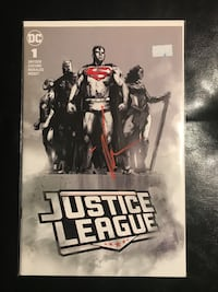 Justice League 1 Jock Signature Variants Toronto, M8Z 2P7