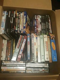 Box of movies and shows