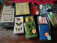 Stampers and ink pads prices vary.  Maplewood, 55109