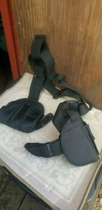 New holster and ammo harness.