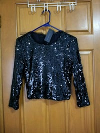 Dynamite Sequin Crop Top Toronto, M9W 5J8