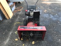 Red murray snow blower