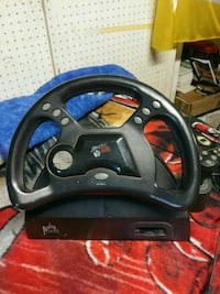 Nintendo 64 steering wheel with gas pedal and Brak San Francisco