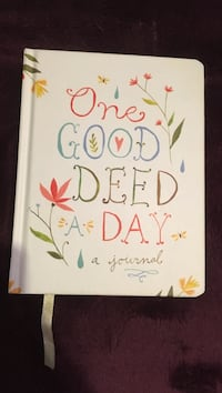 One Good Deed A Day journal book Chicago, 60618