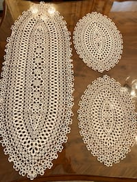 Set of Antique Runner/Doilies