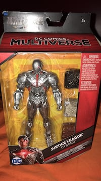 Brand new! Justice League Cyborg Carnegie, 15106