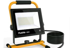 6000LM LED Work Light (450W Equivalent) Touch Switch NEW ½ PRICE