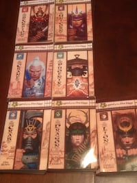 Legend of the 5 Rings complete set. Various authors.  Bolton, L7E 4X2